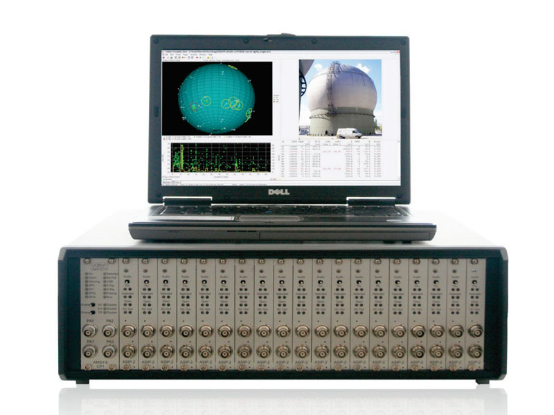 AMSY-6 with Main Chassis MB19 and Visual AE software